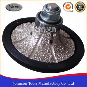 China Half Bullnose Diamond Grinding Wheel 10mm-40mm on sale