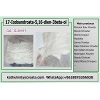 Buy cheap 10g Pharmaceutical Raw Materials 17 - Iodo Androsta - 5 16 - Dien - 3Beta - Ol from wholesalers