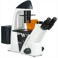 Laboratory Inverted Fluorescence Microscope Long Work Distance Objective