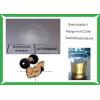 Quality Hormone Steroid Raw Powder Boldenone Acetate 100Mg/Ml Semi Finised Oil for sale