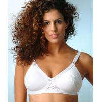 Quality 15%Spandex OEM Service K Cup White Breathable Customized Padded Plus Size Convertible Bra for sale