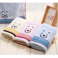 China Cheap fanny 100% cotton face custom embroidered towels in bulk on sale