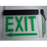 Quality Commercial Battery Operated Aluminum Exit Sign for Teaching Buildings (DSL008BM) for sale