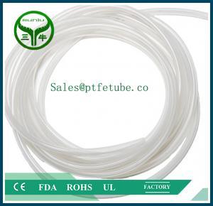 China ptfe fep pfa coiled tube on sale
