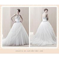Quality Elegant ball gown tulle wedding dress NWD1674 for sale