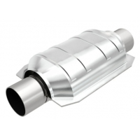 Quality California Grade Carb Compliant 64mm Universal Cadillac Converter 2.5 Inch Stainless Steel Construction for sale