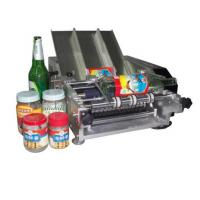 Buy Plastic Bottle Labeling Machine , Semi Auto Pneumatic Sticker Applicator Machine at wholesale prices