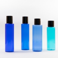 China Cylinder Round Shanpe 120ml 150ml 200ml Plastic Bottle With Cap on sale