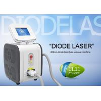 Quality 808 nm Permanent Diode Laser Hair Removal Machine Comfortable Pain Free for sale