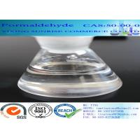 Quality CAS 50-00-0 Formaldehyde No Suspended Substance Liquid With Strong Pungent Odor for sale