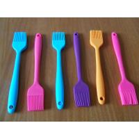 Non-stick Blue / Pink / Purple Silicone Spoon, Silicon Kitchenware ...