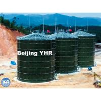 Quality 5000 M3 Anaerobic Digester Tank Glass Fused To Steel Material Fast Installation for sale