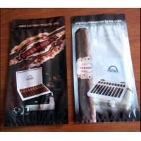 Quality custom printed laminated plastic cigar wraps packaging bag/Ziplock to open and close the bag easily for sale