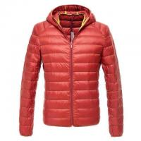 China Cheap Men stock clothing,down feather zipper coats & Brand winter down jacket with hoodie on sale