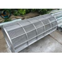 Buy cheap Food Grade Rotary Screen Drum Low Carbon Galvanized / Stainless Steel Material from wholesalers