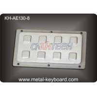 Buy cheap IP65 8 Keys Industrial Rear Panel Mount Number Keypads Stainless Steel product