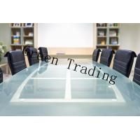 Quality Toughened Glass Table Top For Meeting Table , 10MM Tempered Safety Glass for sale
