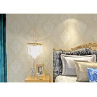 China Nonwoven Retro Vintage Wallpaper with Pearly Lustre Surface Technics , 0.53*10m size on sale