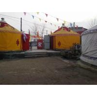 Quality Anti - Water 8m Diameter Luxury Yurt Homes With 80km / H Wind Loading Capacity for sale