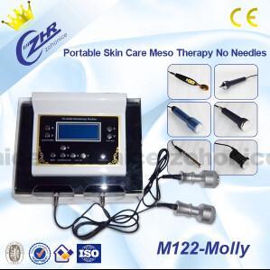 China Mini Skin Rejuvenation Needle Free Mesotherapy Machine For Facial Treatment  on sale