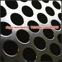 Quality 1.5mm aluminum perforated sheet/aluminum alloy perforated metal sheet for sale