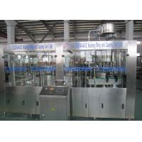 Buy Low Temperature Carbonated Drink Filling Machine / Glass Bottle Isobaric Filling Machine at wholesale prices