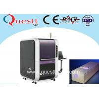 Buy cheap High Precision 12W UV Laser Cutting and Engraving Machine Etching on PC Board Polymer product