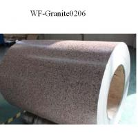Buy cheap Marble Patterned Color Coated Steel Coil , Galvanized Steel Sheet In Coil product