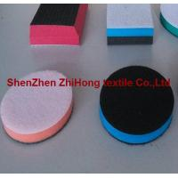 Quality Customized Velcro Hook Loop Fastener Holder Polishing Pad's blocks With foam for sale