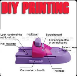 China hot sales DIY nail art machine, Nail painter, Nail art stamping machine, nail care kit on sale