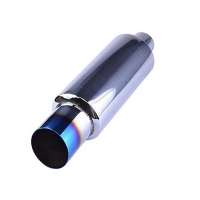 """Quality 2"""" Inlet 3"""" Outlet Sus409 14.8"""" Length Universal Exhaust Muffler For Suv for sale"""