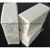 Quality White Decorative Paper Linen Like Guest Hand Towels For Bathroom / Restroom for sale
