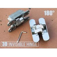 Quality Heavy Duty European Hinges Adjustable Concealed Door Hinge 180 Degree Open for sale