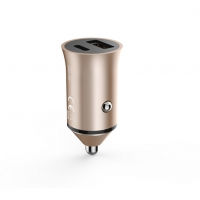 Quality Aluminium Alloy Dual Port A Max 5V3A 36W Quick Charge 3.0 Car Charger for sale