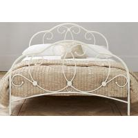 Buy cheap Attractive metal frame bed with sturdy metal structure, color customizd product
