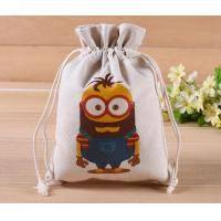 China organic Zero Waste Eco-Friendly Natural & Healthy Organic Cotton Drawstring Net Bag for Grocery Shopping Storage Set on sale