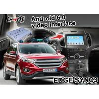 Buy Ford EDGE SYNC 3 Android Box Gps WIFI BT Map Google apps video interface at wholesale prices