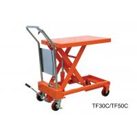 Quality Heavy Duty Hand Lift Table With Safety Wedge Block , Convenient Maintenance for sale