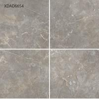 Quality Super Porcelanato Glazed Porcelain Floor Tile , Grey Gloss Porcelain Floor Tiles  Durability Full Body for sale