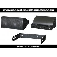 """Buy cheap 91dB Conference Audio Systems 16ohm 100W 2x4.5"""" Aluminium Speaker With Wall Bracket product"""