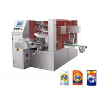 Quality 25-45 bags/min Liquid Packing Machine , PLC Control Doypack Filling Machine for sale