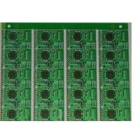 China OSP single layer circuit board, FR4 PCB Printed Circuits Boards Lead- free HASL on sale