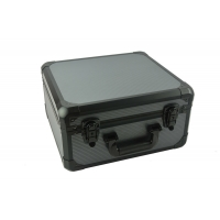 Quality Iron grey watches box pillows watch case aluminum watch carry case for display for sale