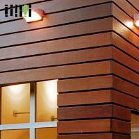 Buy Wood Wall Cladding Panels , Exterior Wooden Wall Tiles 5 Years Warranty at wholesale prices