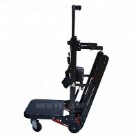 Quality NF - WD03 Electric Automatic Stair Climbing Cart With Four - Wheel In Black for sale