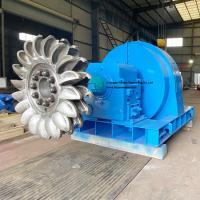 China 2.2MW Hydro Pelton Turbine For Micro Hydro Power Plant on sale