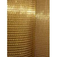 Quality Decorative 4305T Brass braided woven mesh for glass lamination as interlayer for sale
