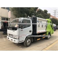 Quality 3tons Garbage Compactor Truck Compressed Waste Refuse Rubbish Cart for sale