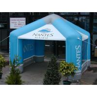 8m Blue Printing Vendor Inflatable Advertising Tent for Promotion