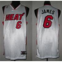 Quality Heats #6 Labron James NBA Jerseys for sale